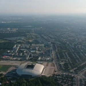 Football Stadion, in Poznan, Poland